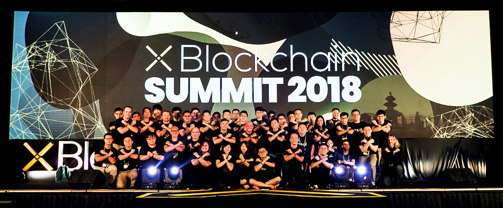 Pundi X team from X Blockchain Summit 2018
